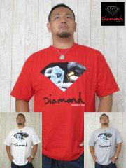 (大きいサイズ)DIAMOND(ダイアモンド)「SCOPE」TEE