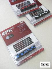 (大きいサイズ)EFX(イーエフエックス)「CHECKER」リストバンドスポーツ<L>