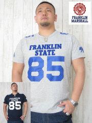 (大きいサイズ)FRANKLIN&MASHALL(フランクリンアンドマーシャル)「STATE 85-A」TEE