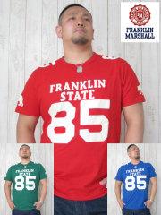 (大きいサイズ)FRANKLIN&MASHALL(フランクリンアンドマーシャル)「STATE 85-B」TEE