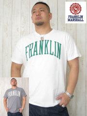(大きいサイズ)FRANKLIN&MASHALL(フランクリンアンドマーシャル)「F-BASIC-1」TEE