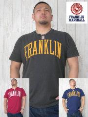 (大きいサイズ)FRANKLIN&MASHALL(フランクリンアンドマーシャル)「F-BASIC-2」TEE