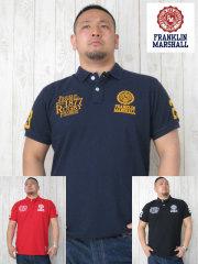 (大きいサイズ)FRANKLIN&MASHALL(フランクリンアンドマーシャル)「FM-1877」半袖ポロシャツ